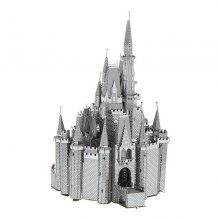 3D Metal Puzzle Castle Model Educational Toy Gift Ornament