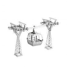 3D Metal Puzzle Tourist Cable Car