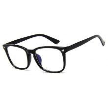 Vintage Plastic Designer Eyeglasses Frames for Men Women Anti Blue-Ray Glasses