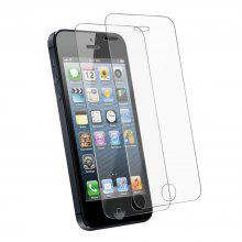 2PCS Screen Protector for IPhone 5/5C/5S/SE HD Full Coverage High Clear Premium Tempered Glass