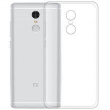 Clear Soft Silicon TPU Protector Case Cover for Xiaomi Redmi Note 4 Global Version