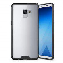 PC+TPU Phone Case for Samsung Galaxy A7 2018/ A8 Plus 2018 Shock-Proof Protection Cover Case