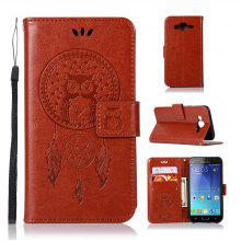 Owl Campanula Fashion Wallet Cover For Samsung Galaxy J5 2015 J500 Phone Bag With Stand PU Extravagant Flip Leather Case