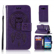 Owl Campanula Fashion Wallet Cover For Samsung Galaxy J1 2016 J120 Phone Bag With Stand PU Extravagant Flip Leather Case