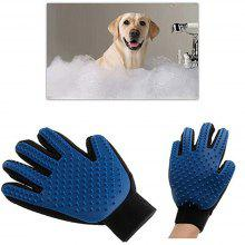 Pet Cleaning Care Massage Gloves