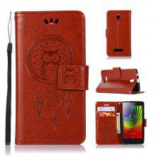 Owl Campanula Fashion Wallet Cover For Lenovo A2010 Case Phone Bag With Stand PU Extravagant Retro Flip Leather Case