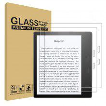 2 Pack for All New Oasis E-Reader 2017 7 inch (2017 Release) Tempered Glass Screen Protector 9 Hardness HD Anti-scratch