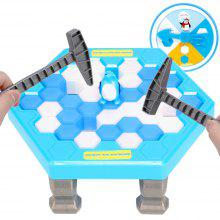 Board Games Save Penguin Break Ice Blocks Children Educational Parent-Child Interactive Toys