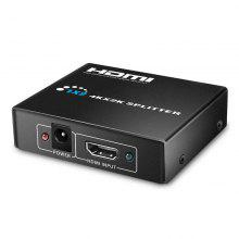 Hdmi Splitter 1x2 Powered 4K Hdmi Splitter Dual Monitor for Full HD 1080P Support 4K/2K and 3D Resolution