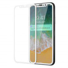 3D Round Curved Edge Tempered Glass for iPhone X Full Cover Protective Premium Screen Protector Film