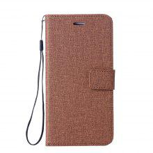 Case For Apple iPhone X Wallet with Stand Flip Full Body Solid Color Hard PU Leather