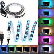 Adhesive led light strip online deals gearbest kwb 5v usb led strip light 5050 smd waterproof with rgb controller aloadofball Gallery