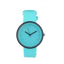 Students Stereoscopic Stylish Simple Watch