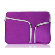 Laptop Bag for Apple MacBook Air11 Inch Hand-Held Zipper Bag Pro Bladder Double Mouth