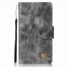 Leather Flip Wallet Case for Lenovo A2010 Holer Phone Shell with Lanyard