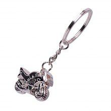 Personality Fashion Premium Gift Alloy Solid Motorcycle Keychain