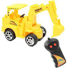 Wireless Remote Control Toy Engineering Vehicles Digging Machine Truck