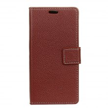 Litchi Pattern PU Leather Wallet Case for Xiaomi Redmi 4X