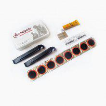 Bicycle Tire Repair Kit 2 Pieces with 8 Inner Tube Tablets