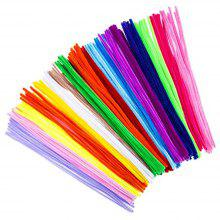 "Lot of 48 Chenille Craft Stems 12/"" Pipe Cleaners School Project Choose Color"
