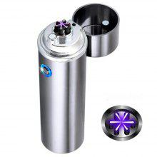 USB Windproof Flameless Electric Cigar Charging Cigarette Lighter Plasma