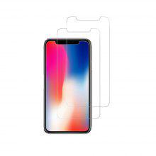 2pcs for iPhone X Screen Protector Tempered Glass High Definition