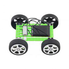 DIY Solar Powered Car Simple Model Science Toy Children Educational Gadget