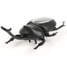 Solar Powered Emulate Beetles Educational Scary Insect Gadget Trick Toy