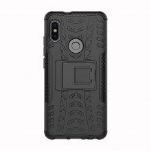 Protective Back Cover Case with Stand for Xiaomi Redmi Note 5 / Redmi Note 5 Pro