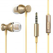 3.5mm In-ear Wired Stereo Earphones with Microphone for Xiaomi Huawei Samsung
