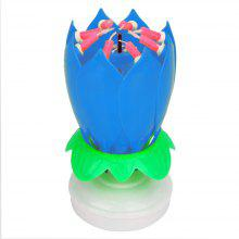 Magic Blossom Lotus Birthday Candle