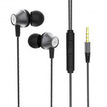 Wired Earphones In-ear Microphone Bass Stereo for Xiaomi Huawei Samsung
