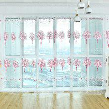 Multi - Color Tree Offset Window Screen
