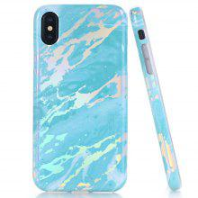 Creative Design Flexible Soft Marble Pattern TPU Case for iPhone X