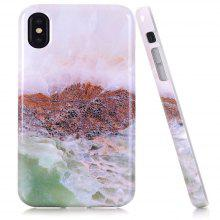 Nice Design Flexible Soft Marble TPU Case for iPhone X