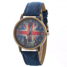 Guitar Style Cowboy Belt Watches