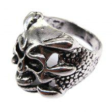 Creative Personality Punk Style Men Titanium Ring Jewelry