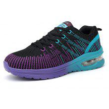 Air Cushion Shock-Absorbing Mesh Surface Casual Sports Shoes