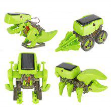 4 in 1 Transforming Solar Powered Robot Kit