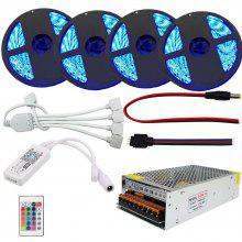 SUPli 1 Set Wifi Led Strip 20M RGB 5050 Waterproof 20A Transformer AC 100-240V