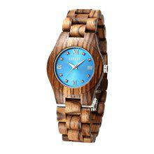 LYW001 Women Wooden Watch Quartz Movement Watch
