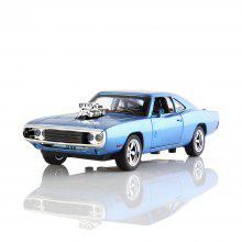 1:32 Alloy Mini Vintage Car Model with Light and Sound for Boys