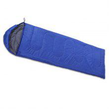 Outdoor Camping Sleeping Bag Warm Envelope Hooded Winter Adult Travel