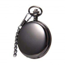 JIJIA SY801 Light Black Quartz Pocket Watch