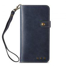 for Samsung J7 Plus Leather Phone Case