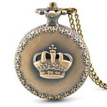 Luxury Crown Retro Pocket Watch