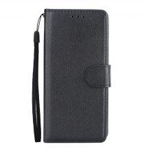 for Samsung Galaxy S9 Horizontal Flip Wallet Leather Case with Lanyard