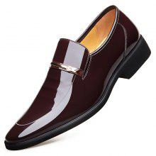 Men Dress Leather Shoes Toe Casual Shoes For Men