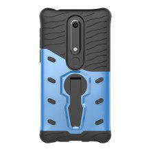 Case for Nokia 6 2018 Shockproof with Stand 360 Rotation Contras