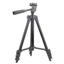 3120 Tripod Stand 4-section Lightweight Portable Aluminum Mini Trip